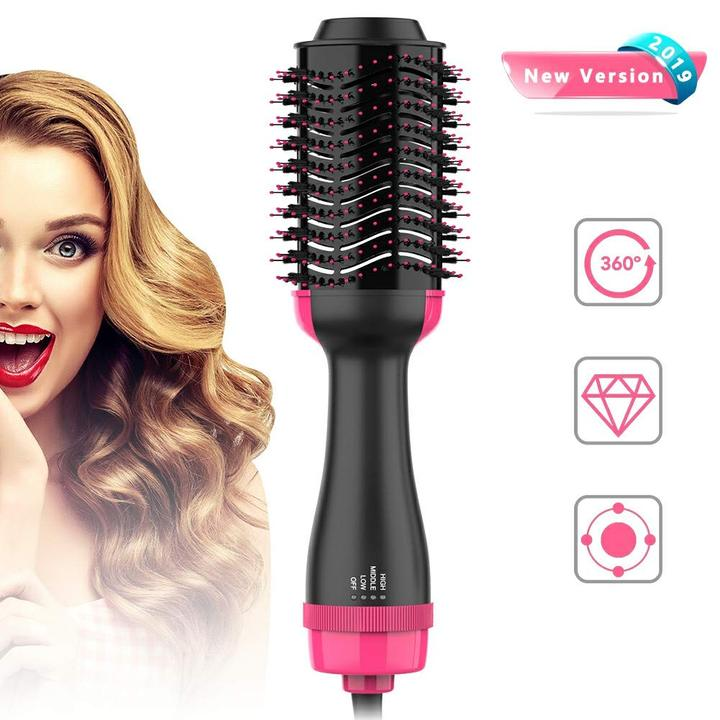 (Last Day 60% OFF)New 2 In 1 Hair Dryer Hair Curler Comb