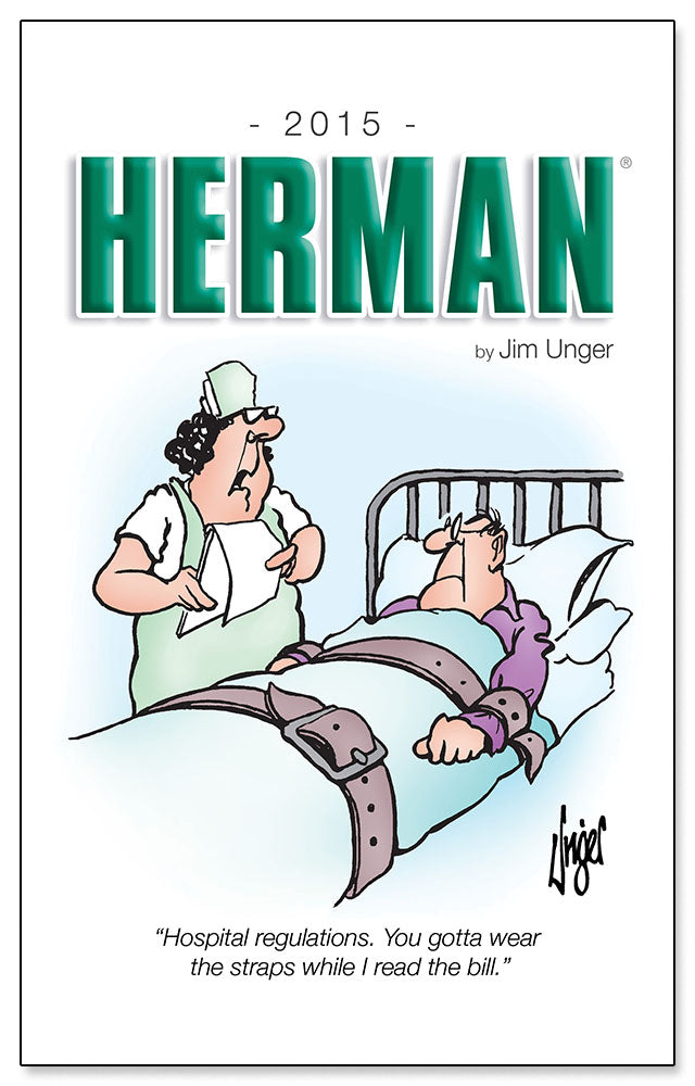 2015 HERMAN by Jim Unger
