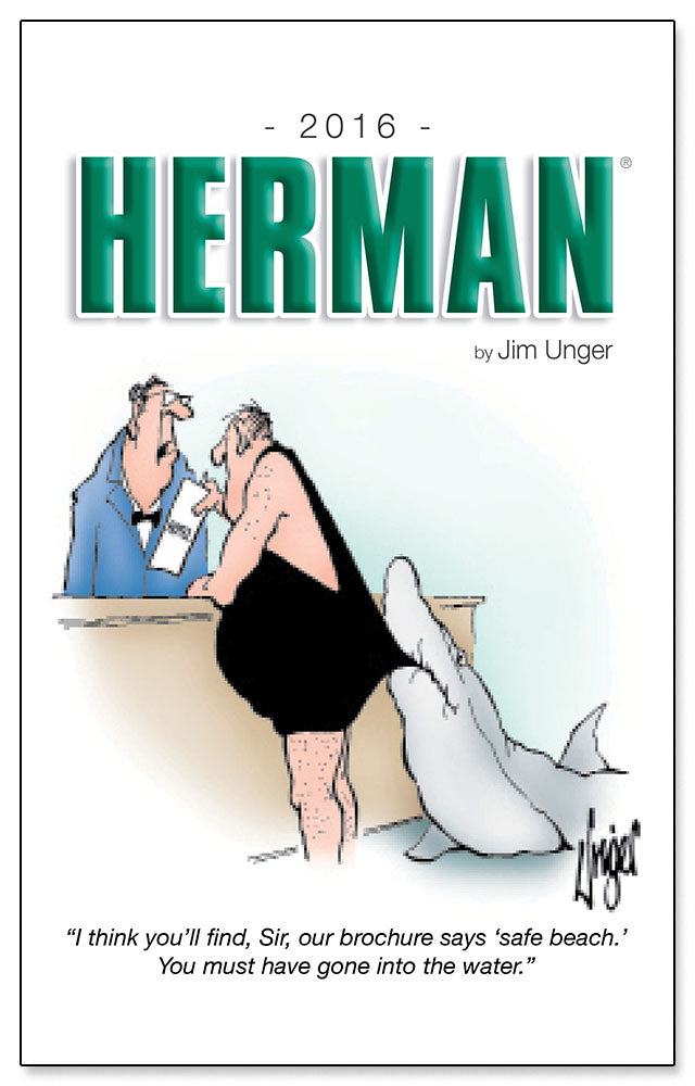 2016 HERMAN by Jim Unger