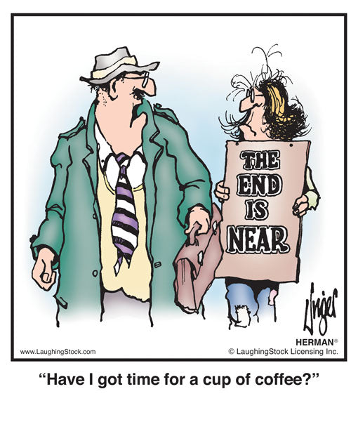 Have I got time for a cup of coffee?