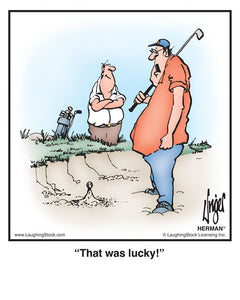 The Indignities of Golf