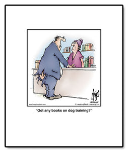 Got any books on dog training?