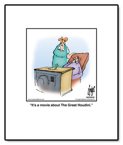It's a movie about The Great Houdini.