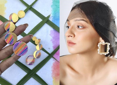 the Margaret Earring from Mitali Jain