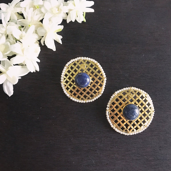 The Mesh Studs - Blue