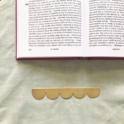 Clouds Bookmark