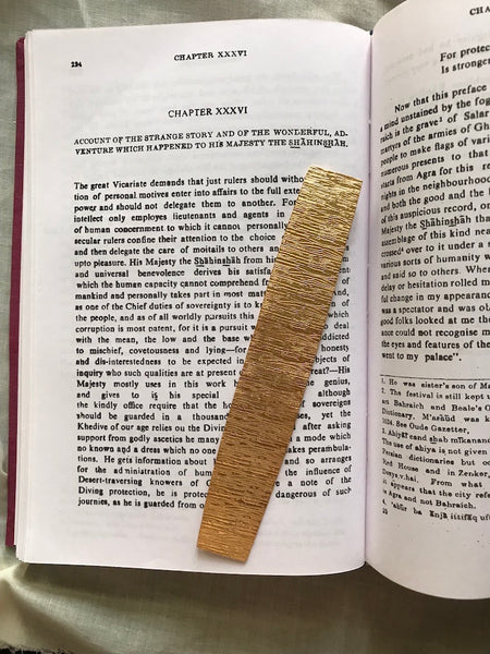 Bark Bookmark