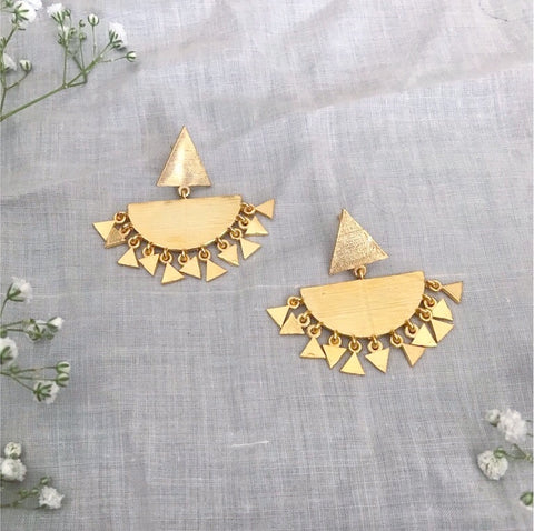 Aster Chandbali Earrings