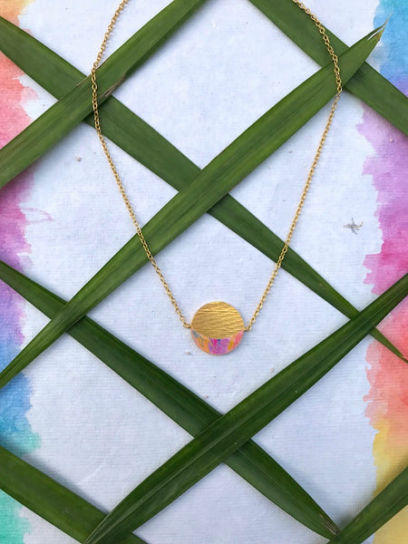Phase Necklace - Crescent Moon