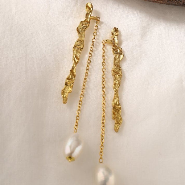 Claudia Earrings - Gold
