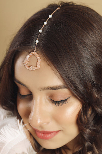 Rosa Headgear - Rose Gold