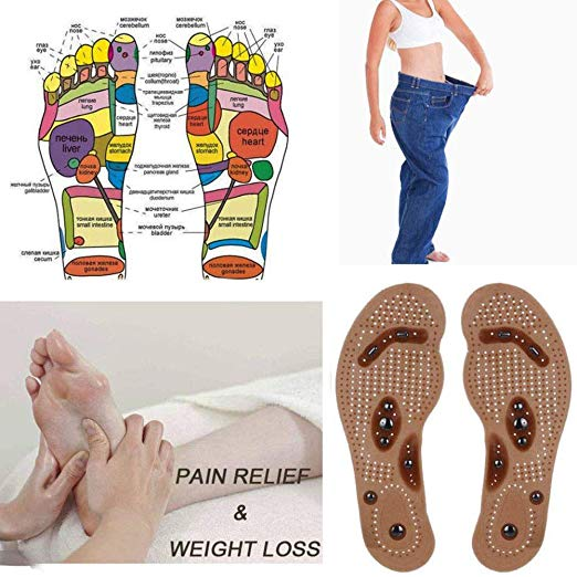 Acupressure Slimming Insoles-Magnetic Health Massage Insole for Men/Women