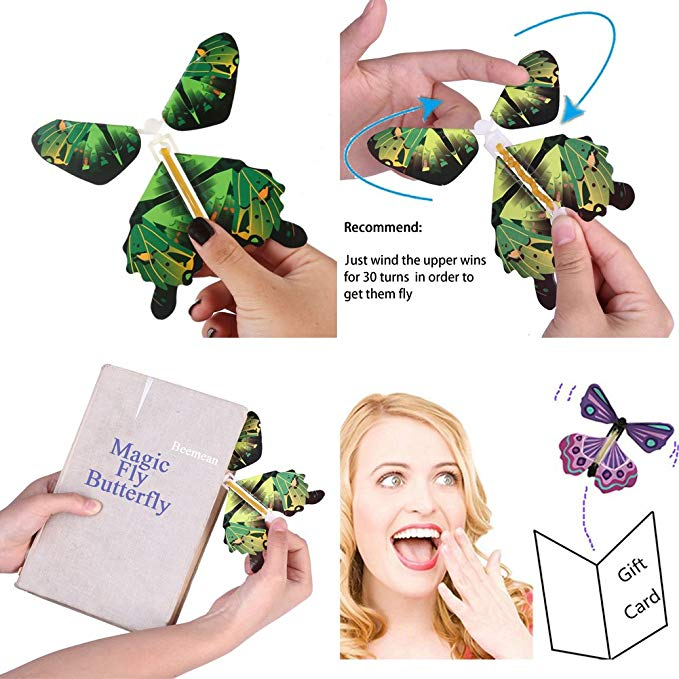 Greeting Card Magic Butterflies