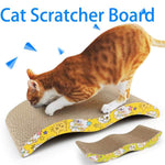 Cat Scratcher Cardboard (Corrugated Scratching Pad)