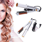 Multi-functional HairStyler-2-Way Rotating Curling Iron