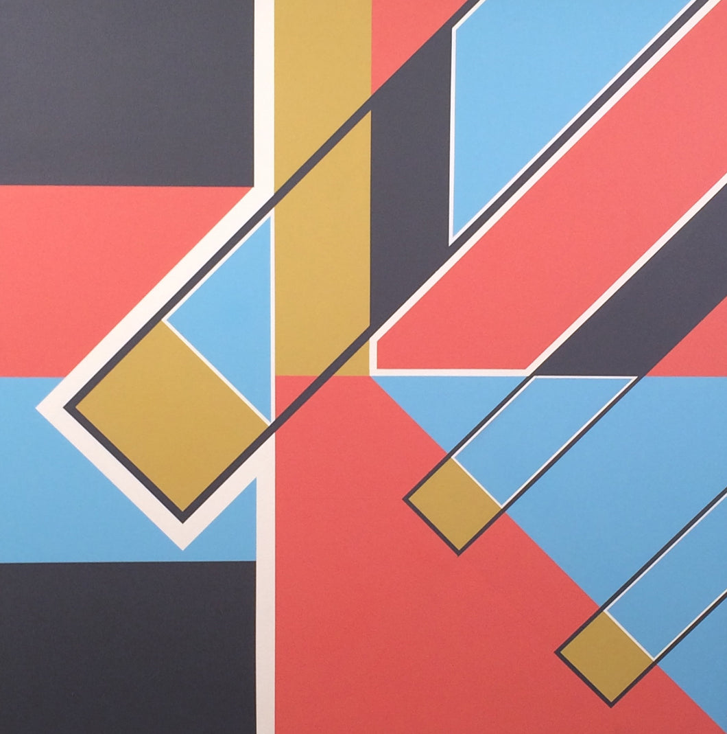 1055 by John Morton Thomas, Acrylic on Canvas