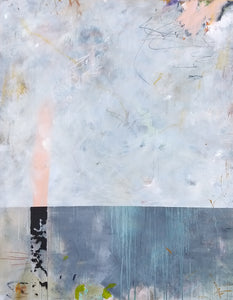 """No.2"" By Jan Axelsson, Mixed Media on Canvas"