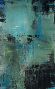 192 by Michelle Oppenheimer, Mixed Media on Canvas