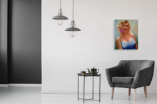 """Marylin"" By Michael Gutkin, Oil on Canvas"