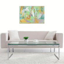 """Abstract Lilly"" by Irina Vladau, Digital Art and Original Print on Canvas"