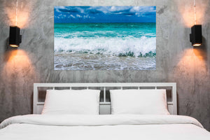 """Azure Splash"" By Joy Garafola, Photography on Wrapped Canvas"