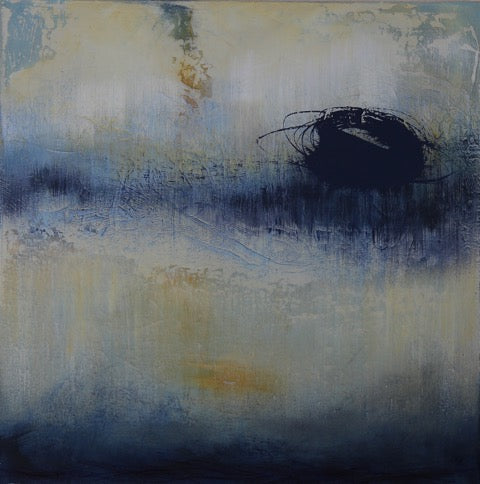 Ocean Indigo by Lee Mohr, Oil on Canvas