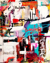 """Believe"" By Rocky Asbury, Mixed Media"