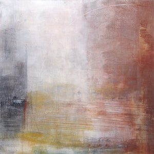 258 by Michelle Oppenheimer, Coldwax on Canvas