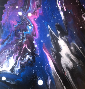 Inner Space by Whitney Creswell, Acrylic on Canvas