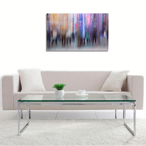 Lights and Shadows by Adela Mizrahi, Print on Canvas Hahnemuhle Fine Art, With Frame