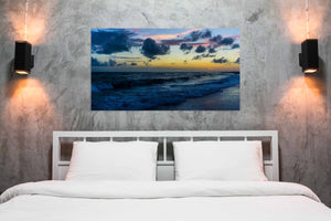 """Cobalt Dusk"" By Joy Garafola, Photography on Wrapped Canvas"