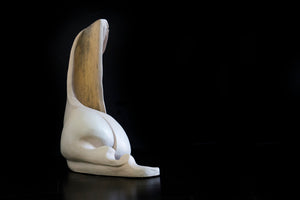 Meditate by Shahin Massoudi, Clay