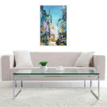 """Empire Building From 5th Ave"" By Judith Dalozzo, Acrylic on Canvas"