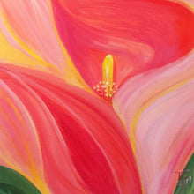 Frizzy Lily by Teresa Carlisle, Acrylic on Canvas
