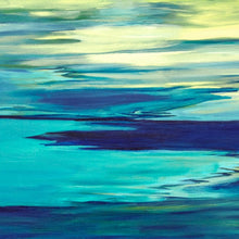 """Blue Inlet"" by Barbara  Nathanson, Acrylic on Canvas"