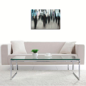 Shadows by Adela Mizrahi, Print on Canvas Hahnemuhle Fine Art, With Frame