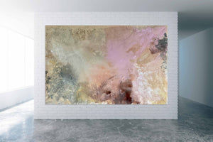 """Earth Colour""  By Kathleen Rhee, Mixed Media on Canvas"