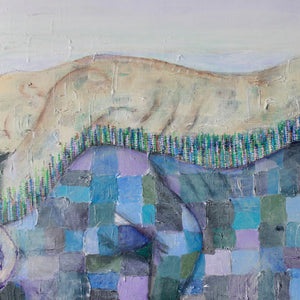 """Spoon Mountain"" by Kim Nelson, Mixed Media on Canvas"