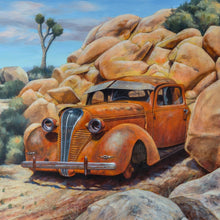 """Rock Hudson"" by Terry Houseworth, Oil on Panel"