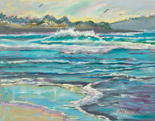 Carmel Tidings by Marie Massey, Plein Air Oil on Canvas (Board)