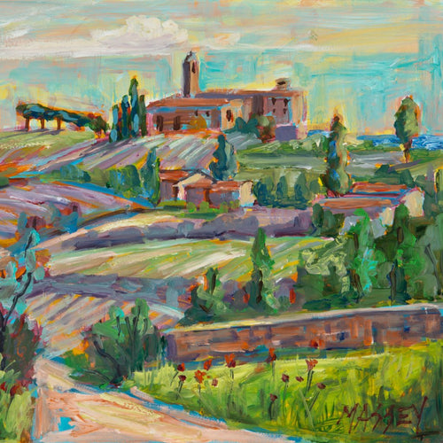 Dreams of Tuscany by Marie Massey, Oil on Canvas
