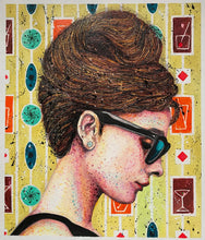 """Stylish 60's""By Ritch Benford, Mixed Media on Heavy Duty Canson"