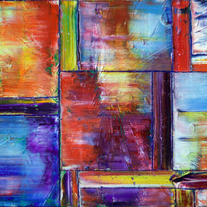 Boundless Joy by Preston M. Smith, Mixed Media on Canvas