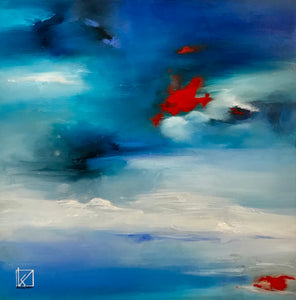 Coastal by Kristine Andrea, Oil on Canvas