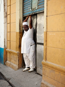 Cuban baker, by David Reinfeld Archival Photography Print