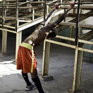 Cuban Boxer, by David Reinfeld Archival Photography Print
