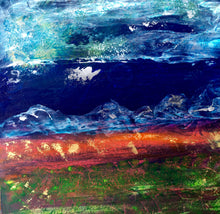 Destiny by Christine Moore, Mixed Media on Gessoboard
