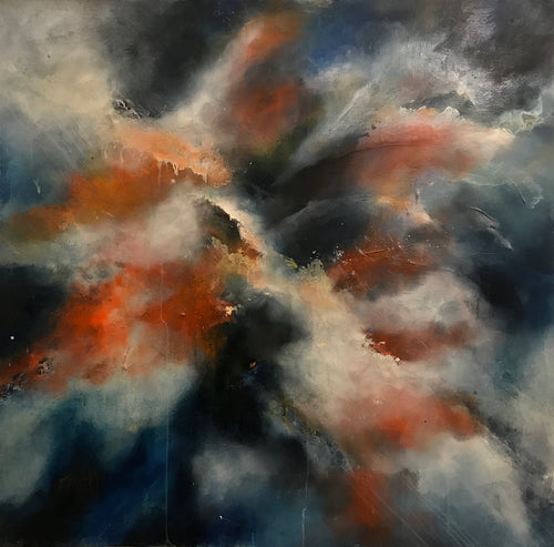 Endless by Maria Biederbeck, Oil on Canvas