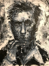 """Daniel Craig 007"" By Eric Son, Mixed Media on Wood"