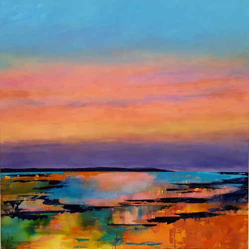 Afterglow Reflections by Catherine Hamilton, Acrylic on Canvas